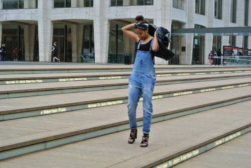 blackfashion:  overalls overeverything brittiish.blogspot.com