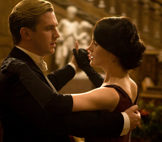 downton abbey, downton abbey season 2, mary and matthew, matthew crawley