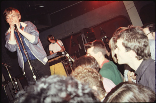 suicidewatch:  The Fall in San Francisco, 1981. Jello Biafra watching in the crowd.