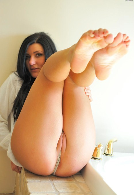 Milf with tired feet