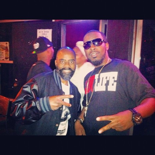 "#TBT Me and Freeway Ricky Ross ""The real Rick Ross"" #la #california #losangeles #rickyross #rickross #woodykane #gshit #gangsta #americangangsta #freewayricky #freewayrickyross"