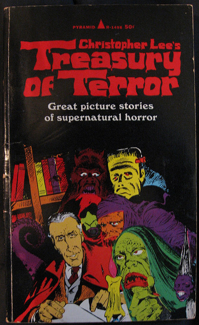 Christopher Lee's Treasury Of Terror (1966) Mort Drucker cover art…