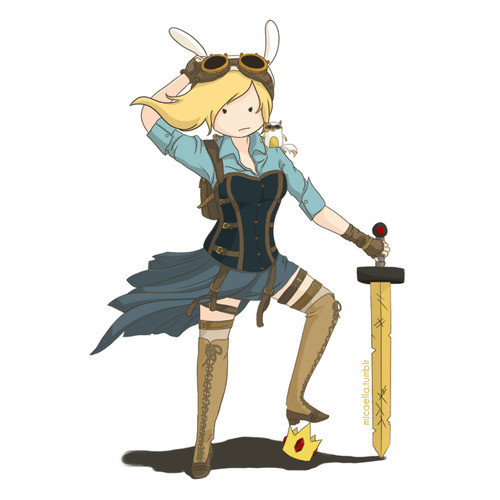 I think this is going to be my next cosplay since I loved being Fionna so much. I don't think I'm going to make it exactly like this, but similar. Cannot wait!
