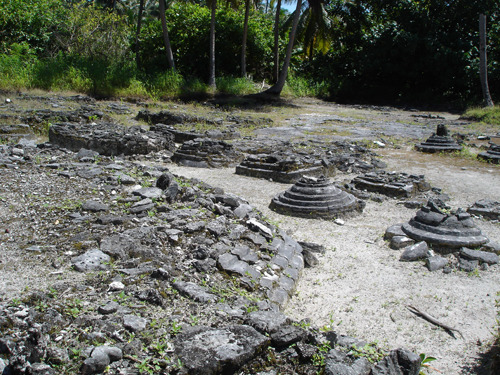 worldly-perspectives:  Buddhist Ruins in the Maldives Islands.