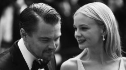 a-blackandwhitetime:  Leo DiCaprio and Carey Mulligan at Cannes Film Festival 2013