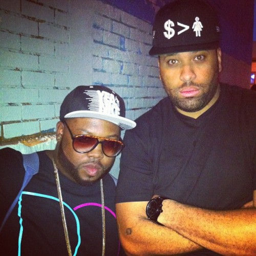 Me and @doncannon final hour #dontbelievemejuswatch #nicehiphop #fuckinmajor