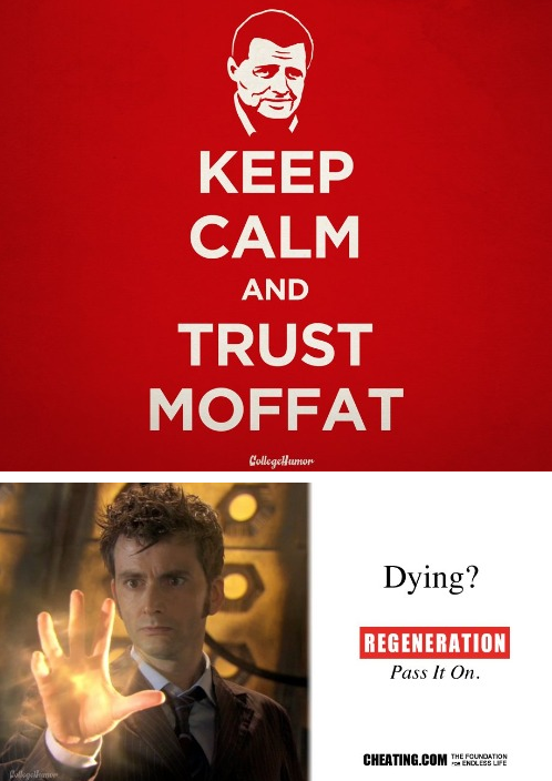 9 Doctor Who PSAs [Click for more]