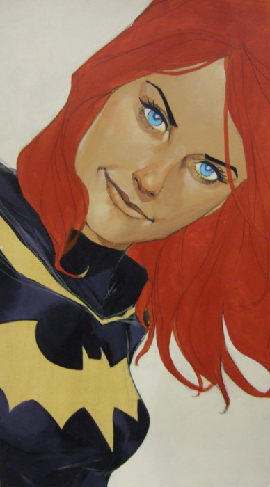 superspacechick:  Batgirl by Phil Noto