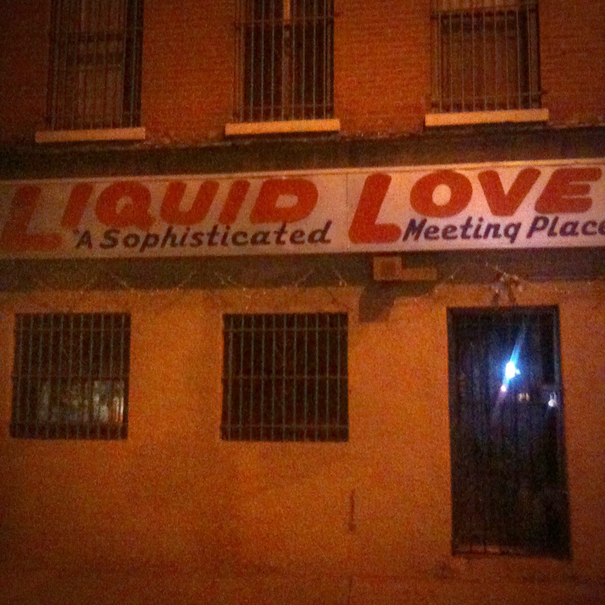 Liquid Love is prison slang for semen. It's also a prison disguised as a bar in Bed Stuy.