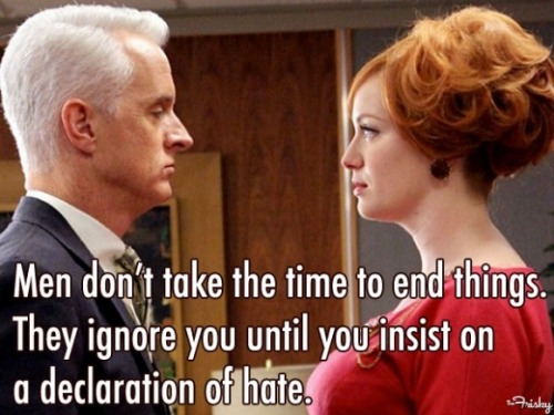 10 things Joan Holloway would say about dating.