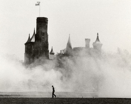 Castle Enshrouded by Mist, 1979 photo by Richard K. Hofmeister
