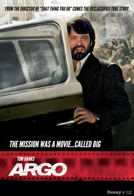 "funnyordie:  If Tom Hanks Starred In All the Oscar Nominated Films We can all agree on one thing: this year's Oscar nominees need more Hanks.  ""Amour"" was the best one."