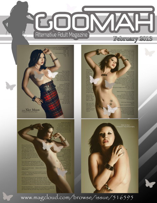 ★Published in Goomah Magazine & Back Cover! http://www.magcloud.com/browse/issue/516595