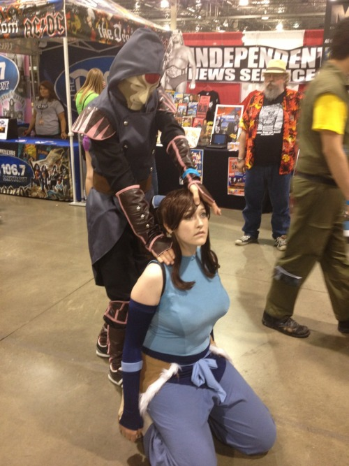searchforelysium:  Glenn found a Korra - they had a disagreement.
