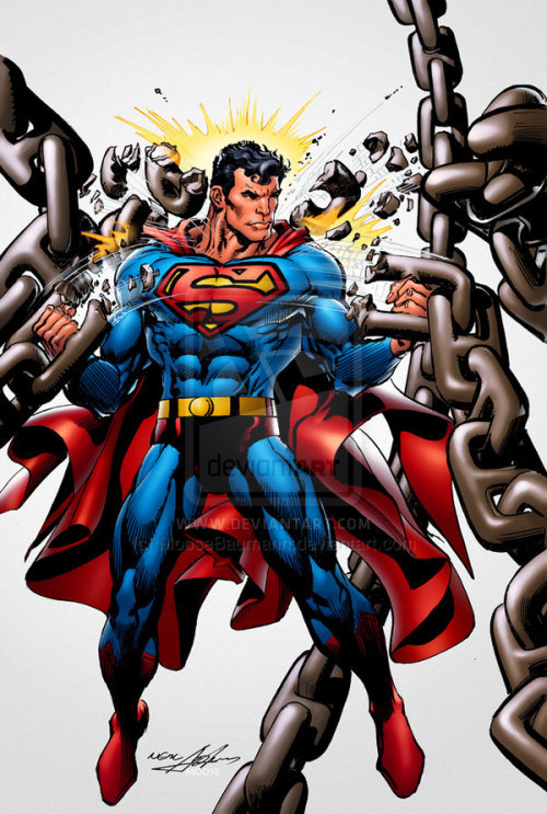 Superman Unchained by Neal Adams.