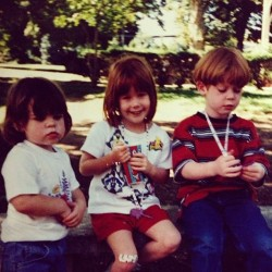 #tbt At the Philadelphia Zoo with my lifelong best friend Justin and his sister Shannon who would have been 21 yesterday. ❤❤❤
