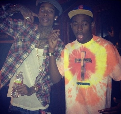 youngandstonedaf:  Wiz x Tyler, The Creator