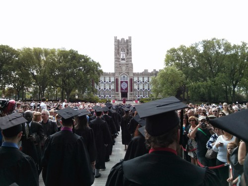 Today I am officially a graduate of Fordham University!