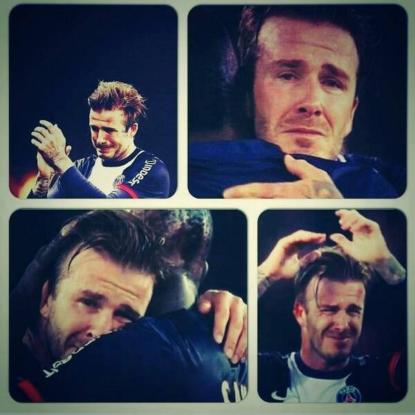 Becks, you are amazing!!!