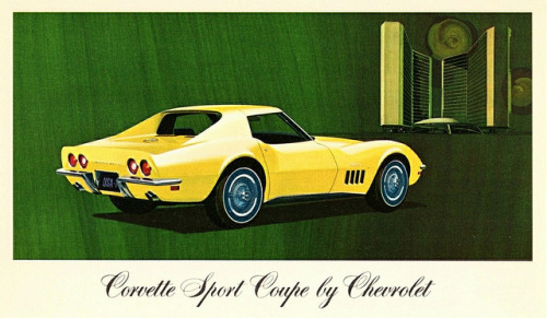 1969 Chevrolet Corvette Sport Coupe by aldenjewell on Flickr.1969 Chevrolet Corvette Sport Coupe
