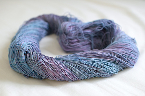 desperateknitbitch:  100% pure mulberry silk – coming soon!