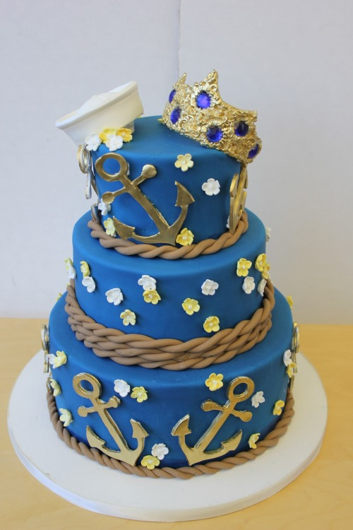 Sailor Wedding Cake!