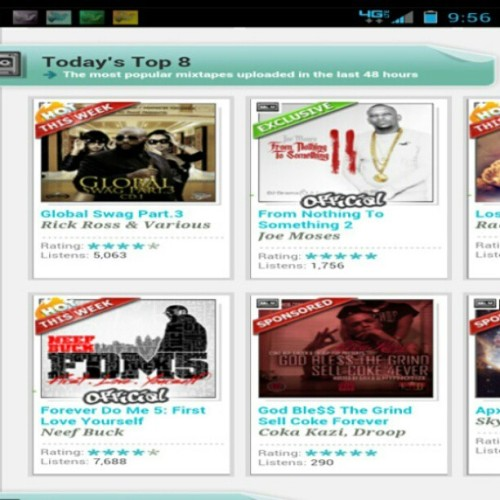 New #Mixtape made the #top 8 again dl God Ble$$ the Grind Sell Coke Forever hosted by @djhypnotize & @dj_5x on datpiff.com #Cokeboys #BSM #HZA #Overgrind