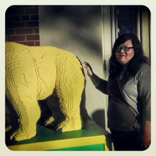 @ashleyyoreos touches butt. #California #OldSac #Lego #bear #butt #Ashley #butttoucher #sicko