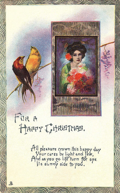 Tuck Christmas postcard. by totallymystified on Flickr.Via Flickr: Published by Raphael Tuck & Sons.