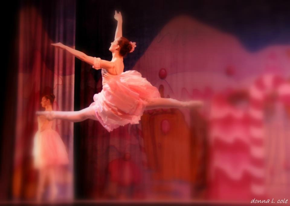 Trainee dancer with Ballet Theatre of Maryland, Alexandra MacWilliams performs in BTM's Waltz of the Flowers. Photo by Donna Cole http://little-bluebirds-fly.tumblr.com/