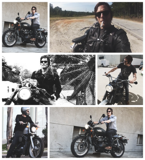 ↳ Norman Reedus and his bike