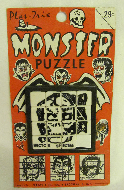 Monster Slide Puzzle (1969)