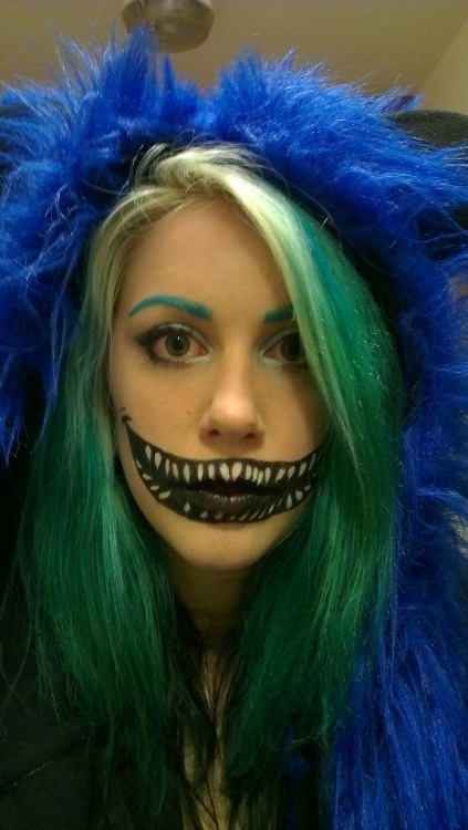Blue cheshire cat