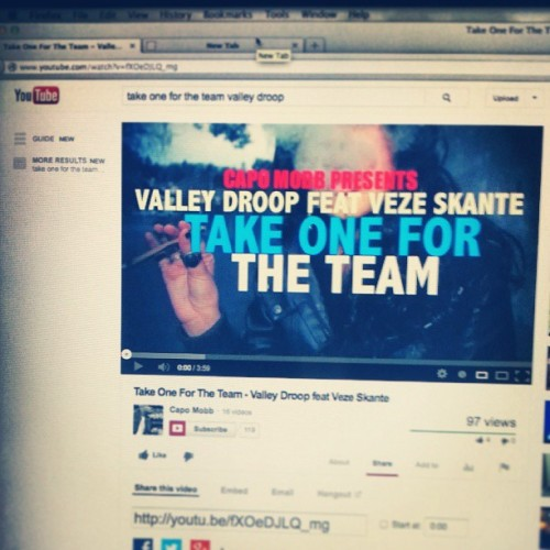Everyone hit up Youtube and iTunes to check out @valleydroop 's new radio single . #T1FTT -  http://www.youtube.com/watch?v=fXOeDJLQ_mg&feature=youtube_gdata_player