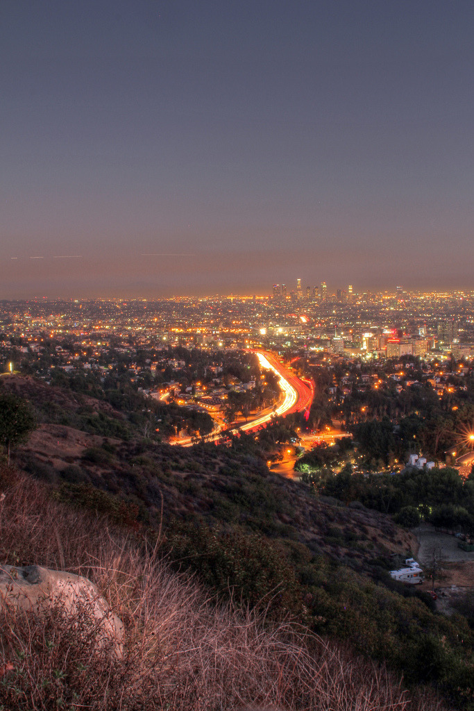 touchdisky:  Los Angeles, California, USA by lapommedeterre
