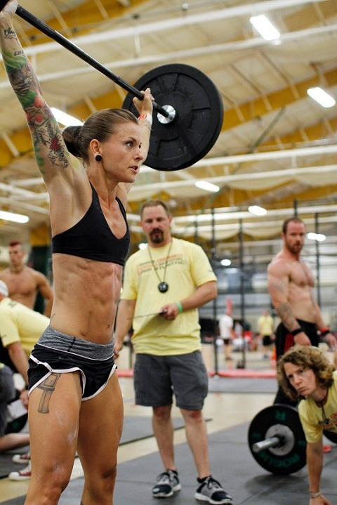 rockupthecity:  CrossFitter Christmas Abbott being awesome