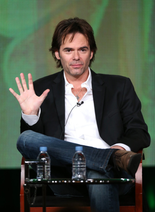 Billy Burke || NBC's 'Revolution' panel during the Winter TCA Tour in Pasadena, CA on January 6, 2013