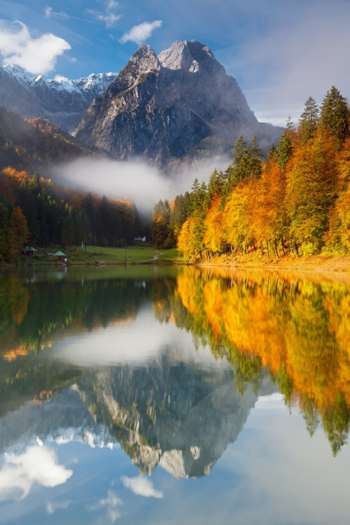 Reflections, Garmisch-Partenkirchen, Germany photo via wendy
