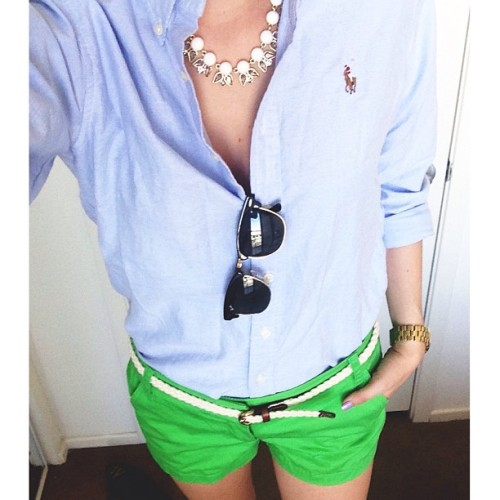 pennsylvaniapreppy:  perfect spring outfit!