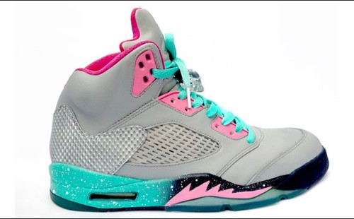 "freshkicks13:  Air Jordan 5 ""Miami Vice"""