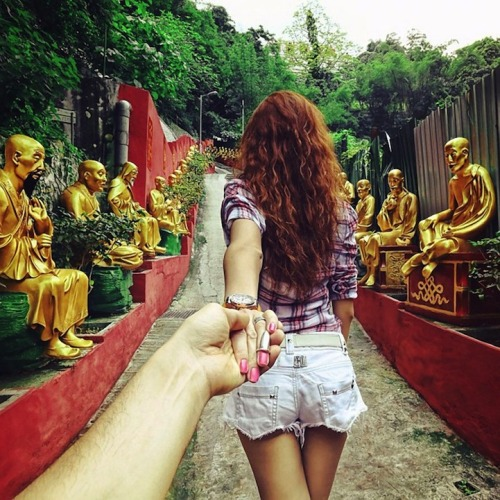 radicalhomo:  Photographer's girlfriend leads him around the world.