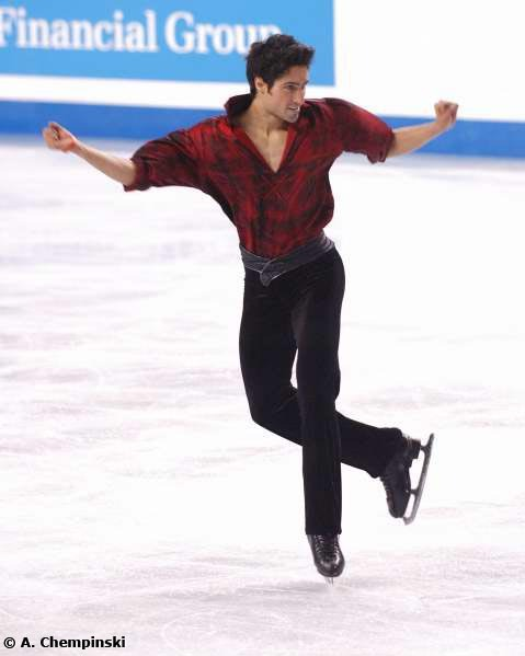 Emmanuel Sandhu's tango costume at the 2006 World Championships.