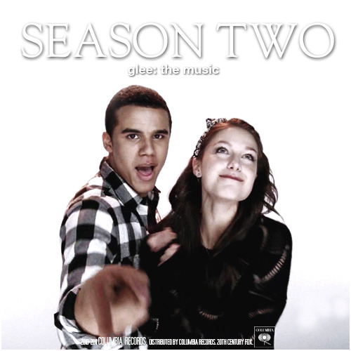 Glee: The Music, Season Two Requested Album Cover Request by thes0undofdrums