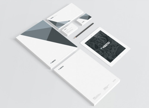 Graphic Brand Design The Lublin, Poland-based small graphic design and branding studio Motyf created the visual identity for Vastjo, a company specializes in the trade of coal and other natural resources. More images of the brand design on WE AND THE COLORWATC//Facebook//Twitter//Google+//Pinterest