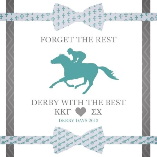 nothingspeciallove:  Forget the rest, Derby with the best