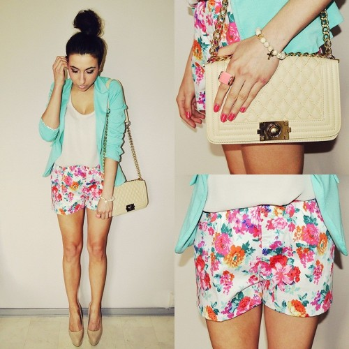 lookbookdotnu:  Mint jacket (by Pam S)