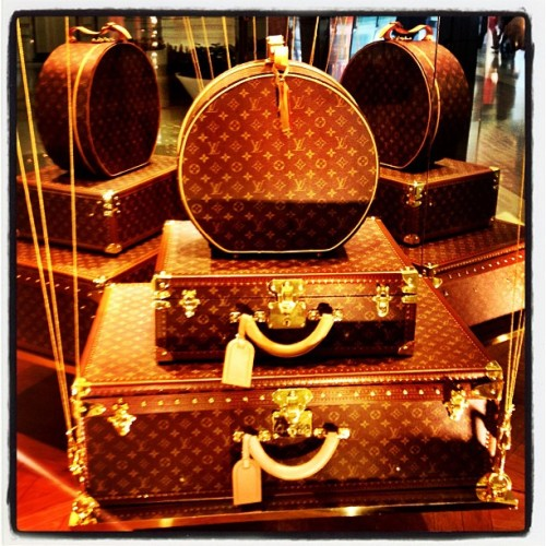 Don't Pack Light ~ #louisvuitton #travel (at Louis Vuitton)
