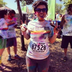 I made it!  #colorrun2013