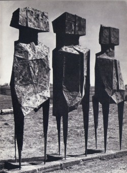 secretcinema1:  The Watchers, 1960, Lynn Chadwick