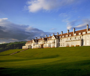 Take a European excursion to the Westin Turnberry Resort in the beautiful hills of Scotland.